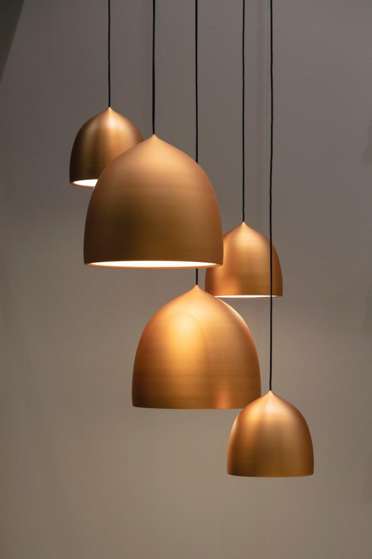 Innred med flotte designlamper
